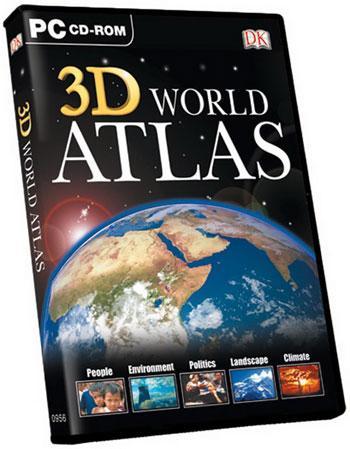 اطلس سه بعدی جهان 3D World Atlas