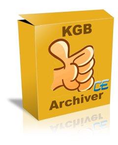 فشرده ساز کردن فایلها KGB Archiver