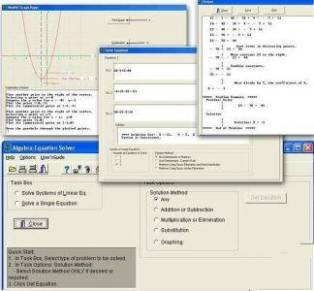 حل معادلات Algebra Equation Solver