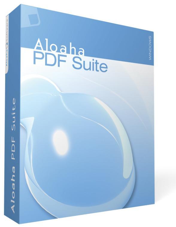 ساخت اسناد پی دی اف Aloaha PDF Suite