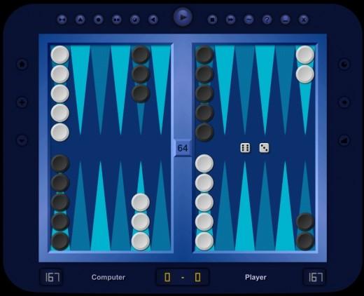 بازی تخته نرد Backgammon Classic