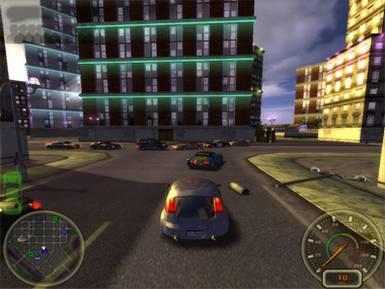 بازی اتومبیلرانی City Racing