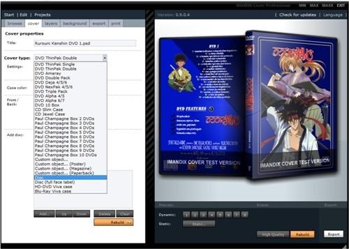 قاب کاور سی دی IMANDIX Cover Pro