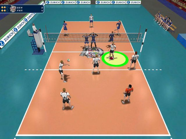 دانلود بازی International Volleyball