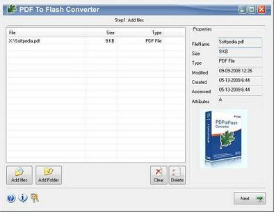 دانلود PDF to FLASH Converter