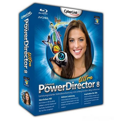 تدوین افکت گذاری PowerDirector Ultra