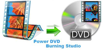 Power DVD Burning Studio برنامه ساخت DVD