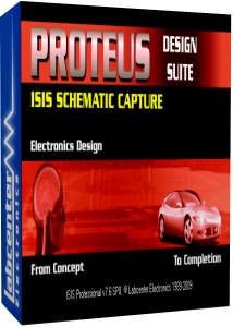طراحی مدار Proteus