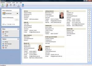 دفترچه تلفن Softwarenetz Addresses2