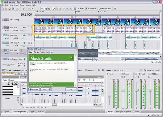 ویرایشگر صدا Sony Acid Pro 7
