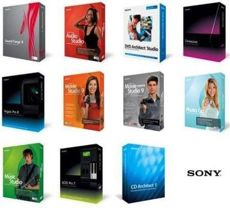 AIO Products Sony مجموعه نرم افزارهای کمپانی سونی