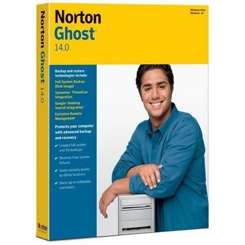بکاپ گیری Symantec Norton Ghost