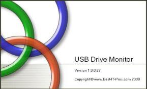 قفل گذاری روی فلش مموری USB Drive Monitor