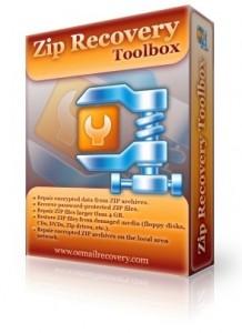 بازیابی فایلهای زیپ Zip Recovery Toolbox