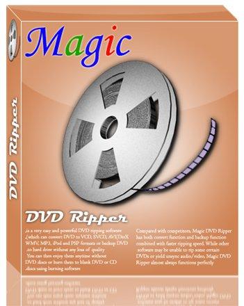 ریپ کردن سی دی Magic DVD Ripper