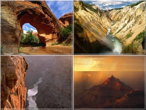 Amazing Canyon Wallpapers پس زمینه دره های شگفت انگیز