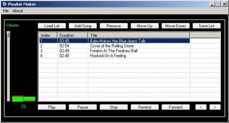لیست پخش دلخواه Code It MP3 Playlist Maker