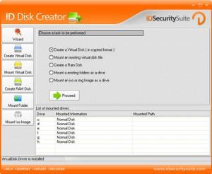 ساخت درایو مجازی ID Disk Creator