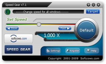 افزایش سرعت رایانه Softcows Speed Gear