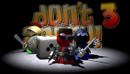بازی منچ سه بعدی Don't Get Angry 3