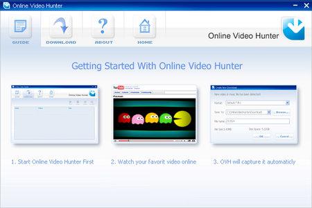 Online Video Hunter Professional دانلود از سایتهای اشتراک ویدئو