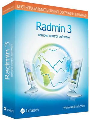 کنترل کامپیوترهای شبکه Radmin
