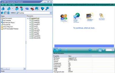استخراج محتویات فایلهای فلش SWF Decompiler Premium