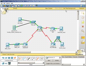 Packet Tracer شبیه ساز سیستمهای سیسکو