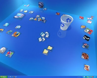 تغییر محیط دسکتاپ Real Desktop