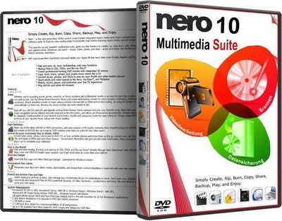 download AIO Nero Multimedia Suite