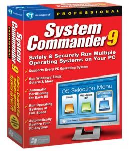 نصب چند سیستم عامل Avanquest System Commander