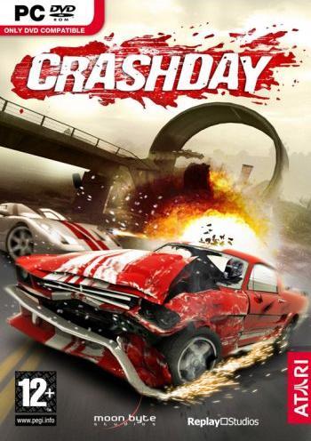 بازی اتومبیل رانی Crashday