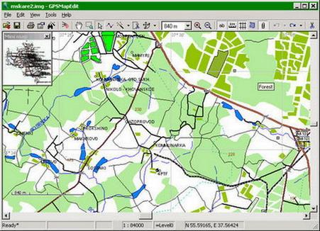 Geopainting GPSMapEdit ساخت ویرایش نقشه های GPS