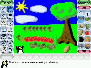 برنامه نقاشی بچهها