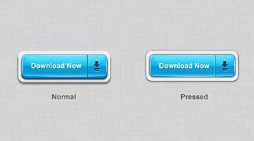 دکمههای سهبعدی وب